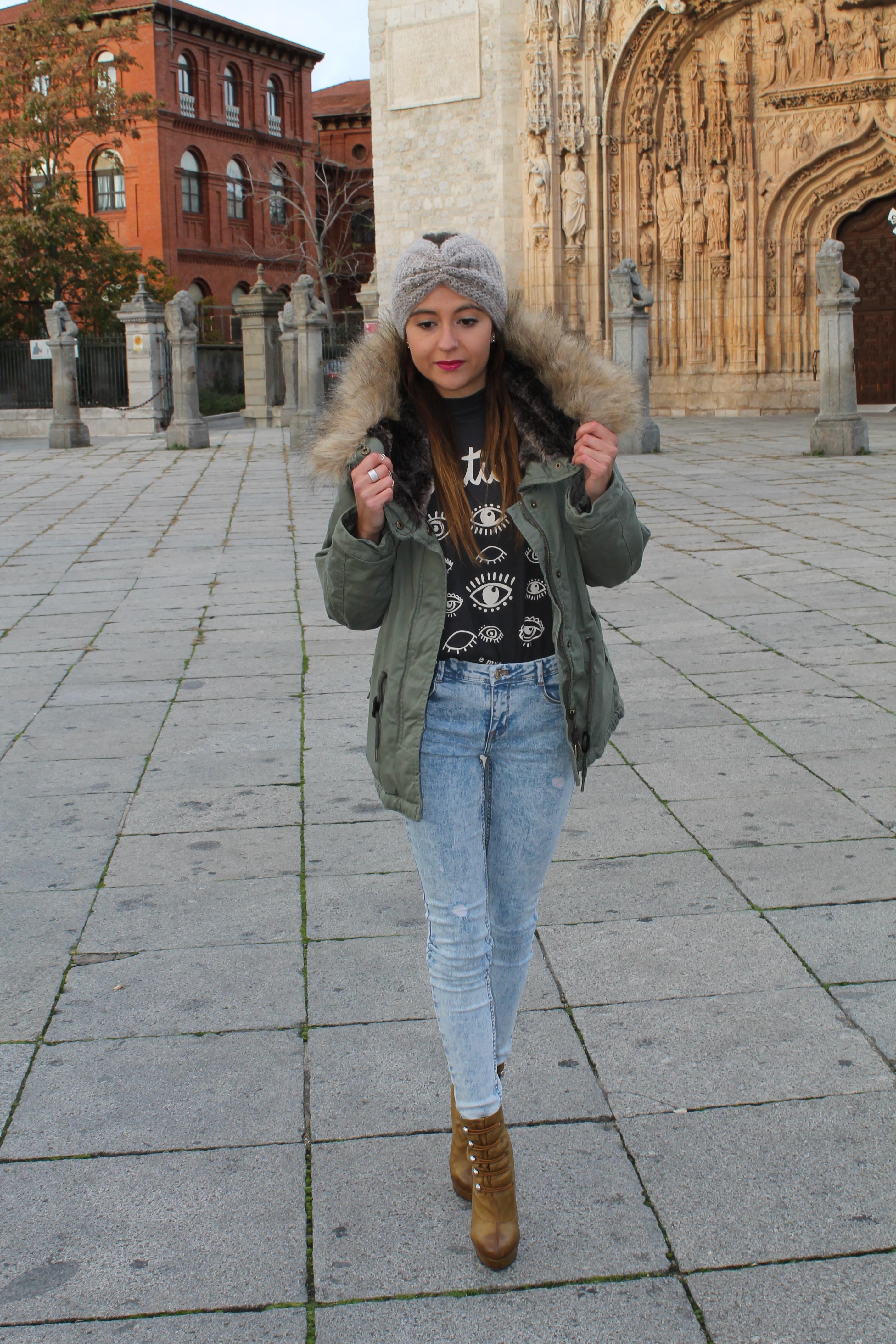 Parka y pelo la vita moda for Turbantes pelo zara